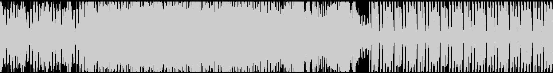エンディングっぽいEDMの未再生の波形