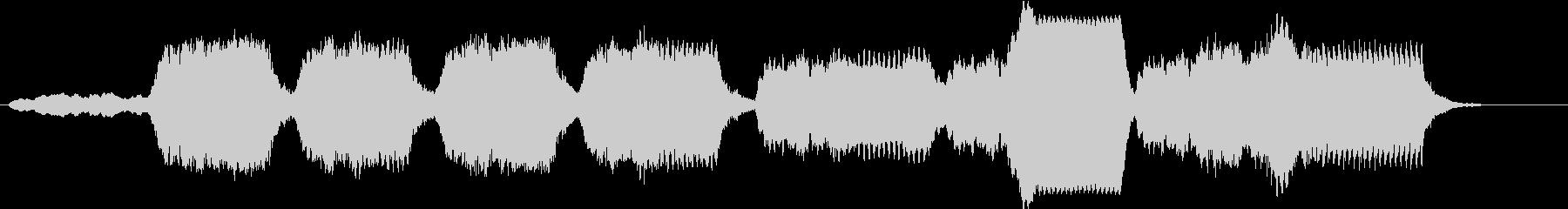 暗い森に迷い込んだようなチェロ曲の未再生の波形