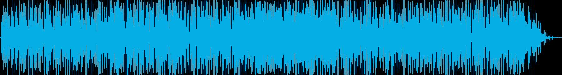 スローテンポなギターポップスの再生済みの波形