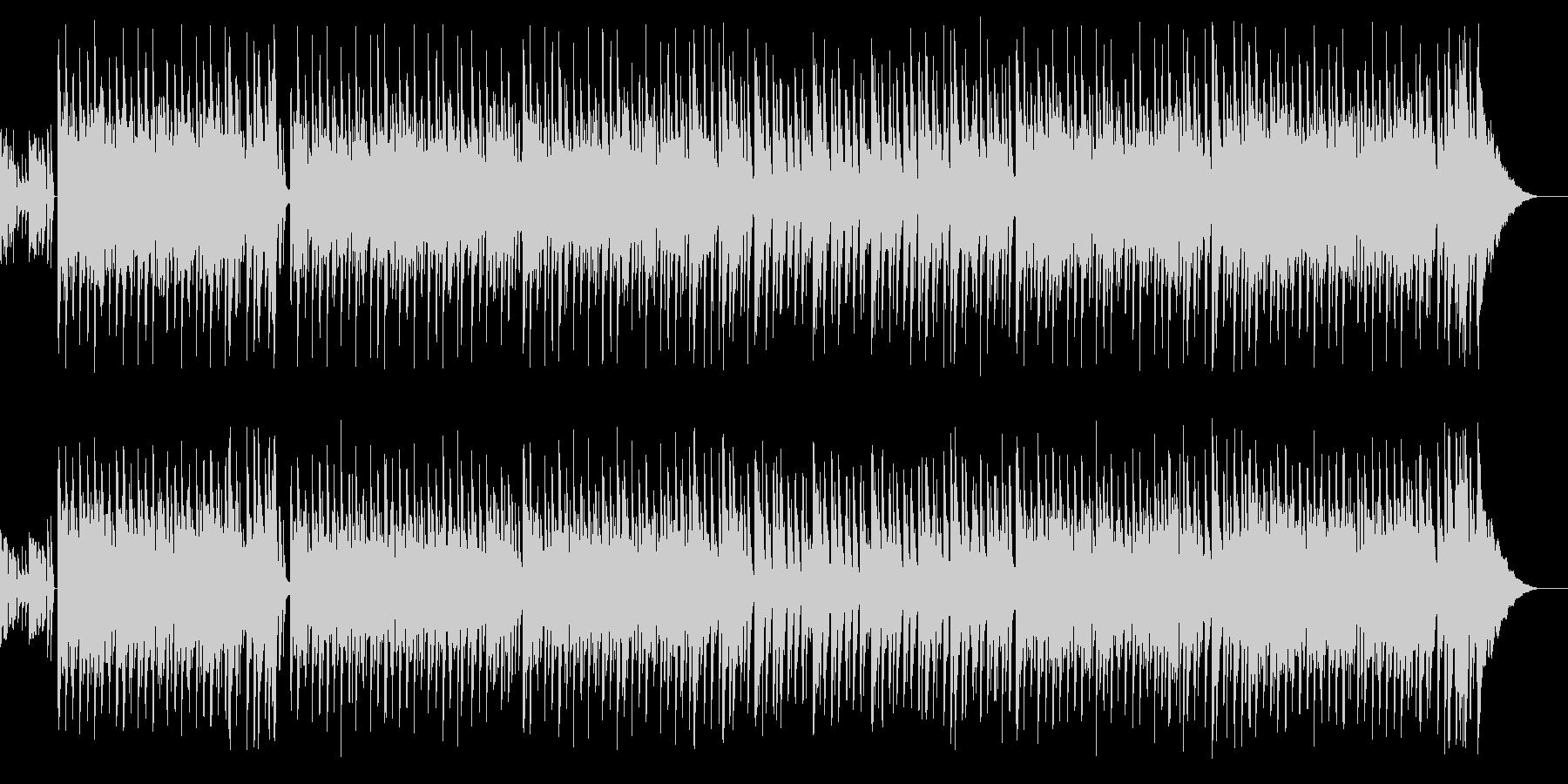 日常シーンぽい夏っぽいポップなBGMの未再生の波形