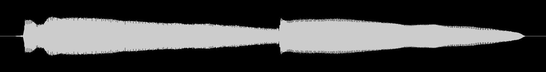 鳴き声 女性うめき声ソフト05の未再生の波形