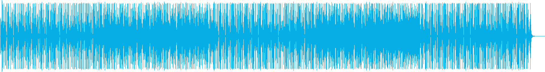 のんびり、平和、可愛い、まったりピアノ曲の再生済みの波形