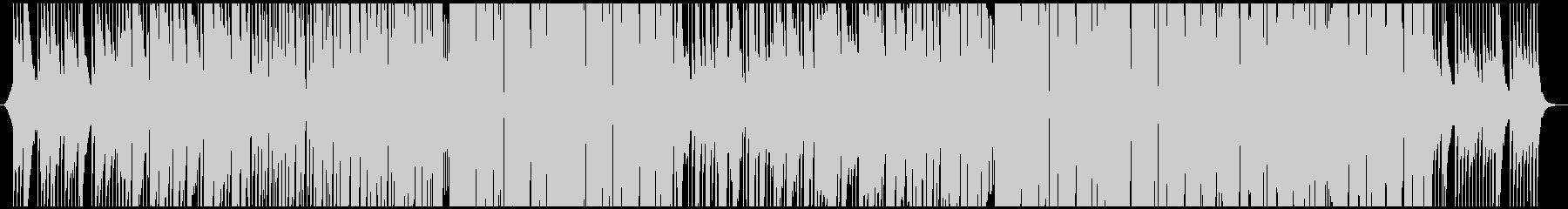 夏っぽいトロピカルEDMの未再生の波形
