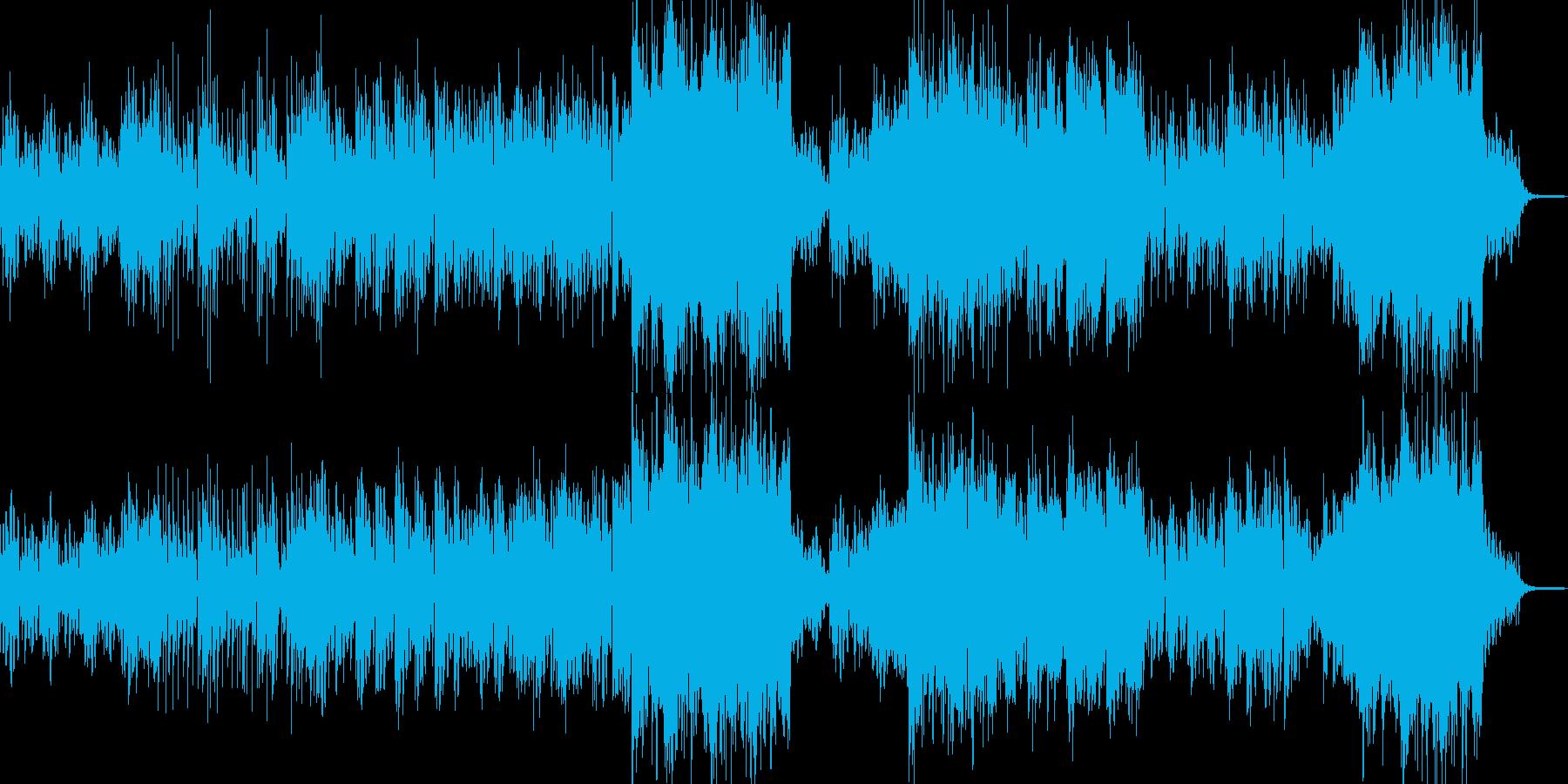 優しさに包まれるよに込み上げるBGMの再生済みの波形