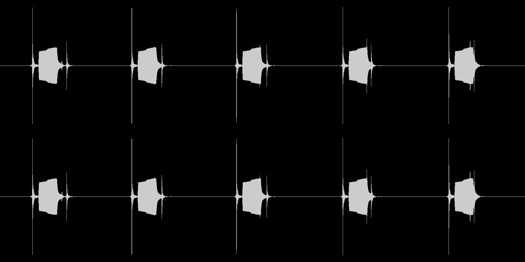携帯電話 ハードウェア02-03(ボタンの未再生の波形