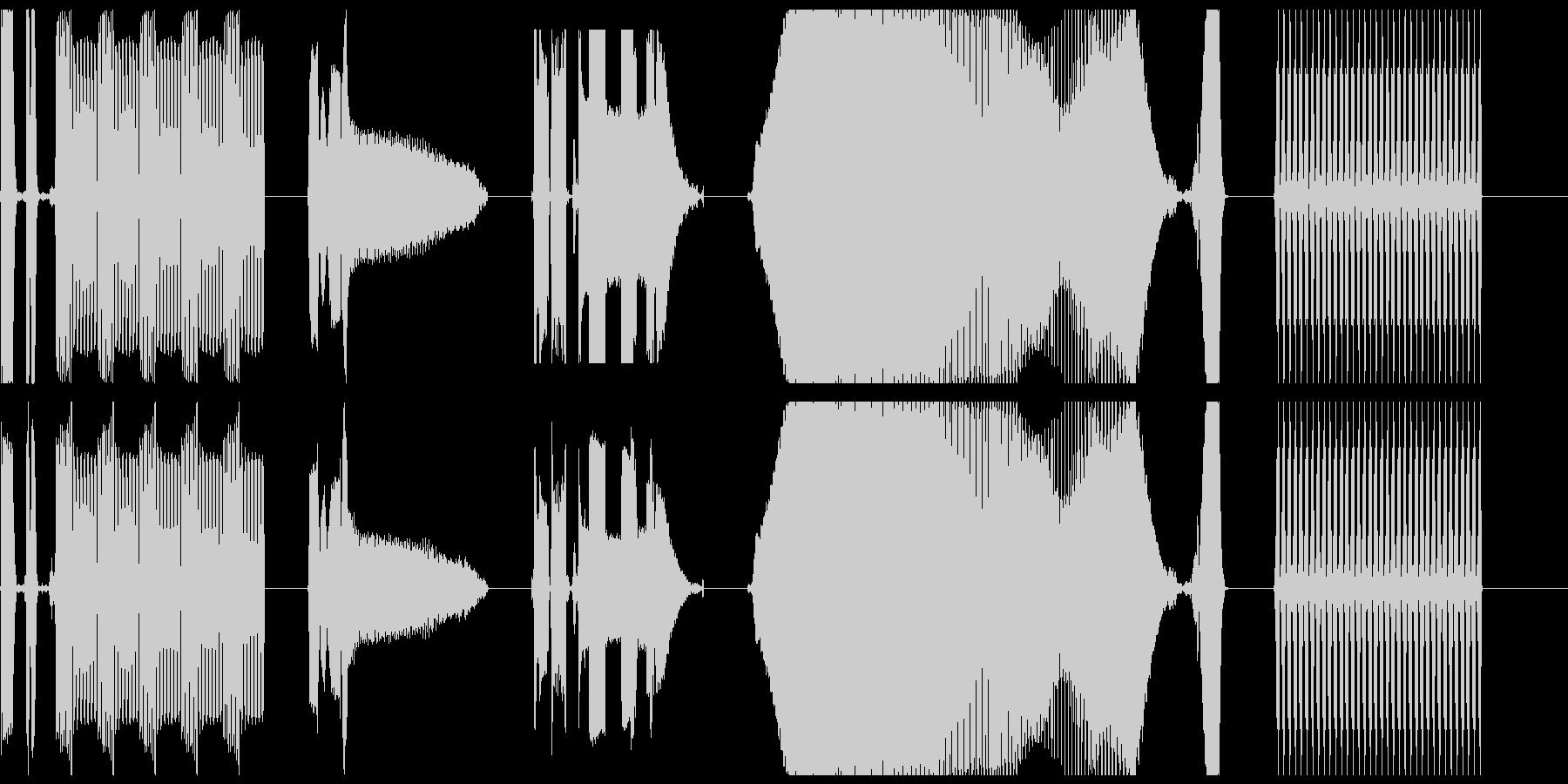 DJコンピューターの誤動作X5の未再生の波形