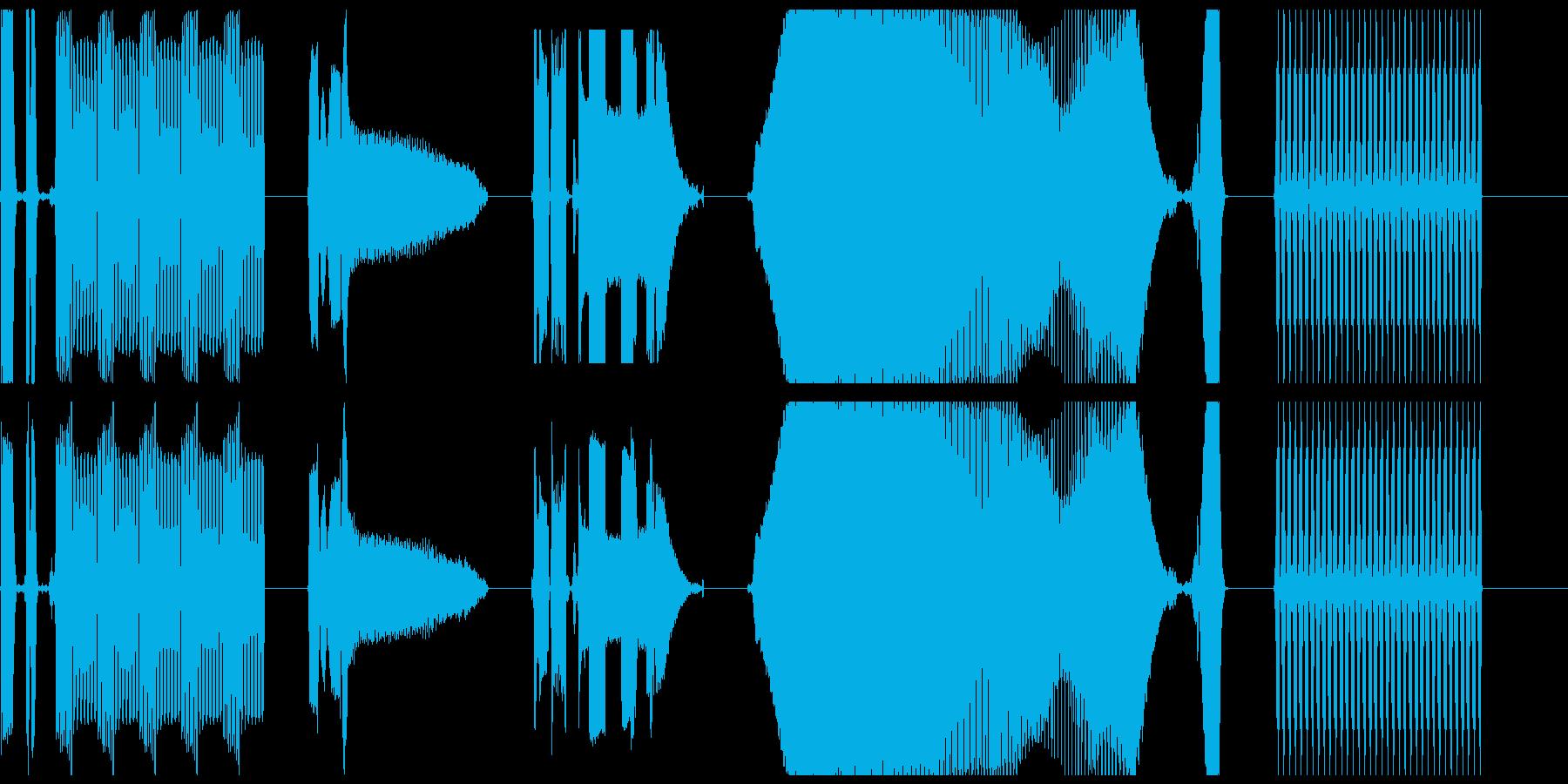 DJコンピューターの誤動作X5の再生済みの波形