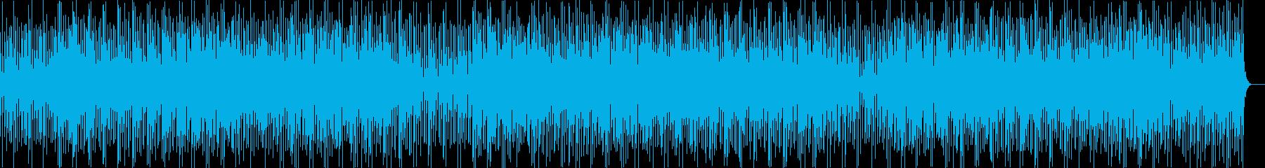 素朴で明るい雰囲気のアイリッシュケルトの再生済みの波形