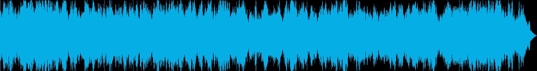 イメージ ライジングアンドライジング01の再生済みの波形