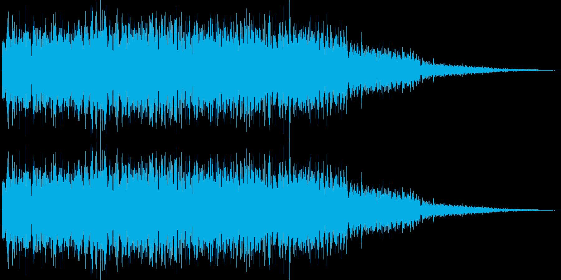 状態異常回復魔法(体が浄化される)の再生済みの波形