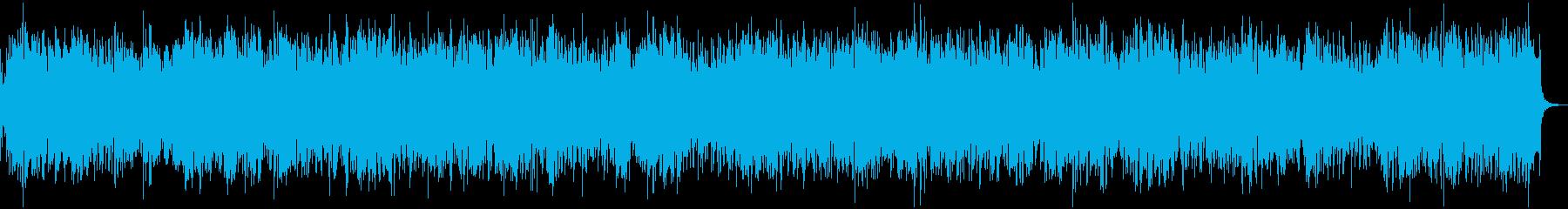 疾走感がありお洒落なアイリッシュフィドルの再生済みの波形