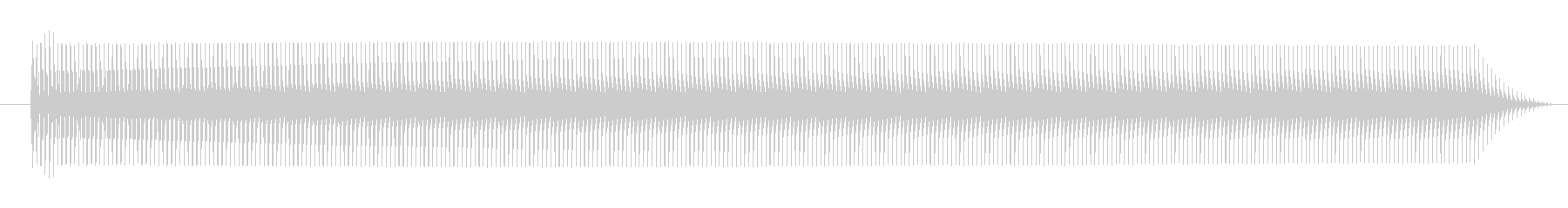FX テレポート01の未再生の波形