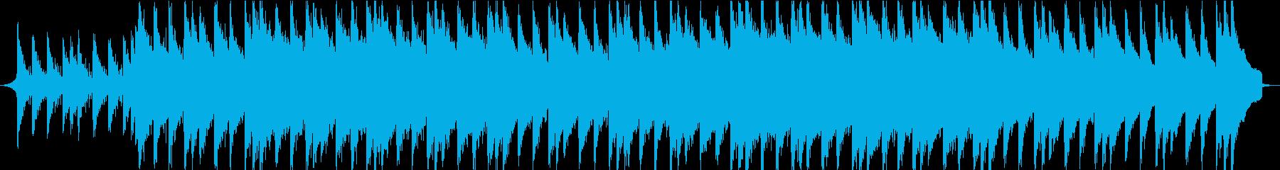 オシャレ・エモーショナルな映像用音楽③の再生済みの波形