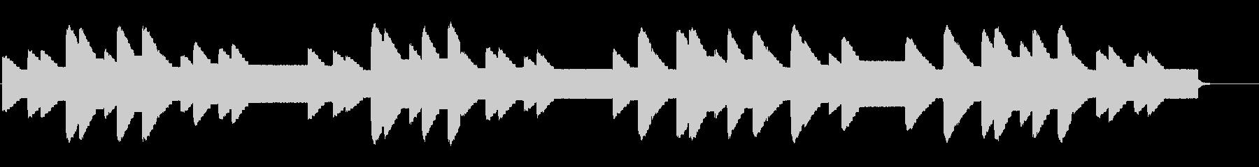 横断歩道 誘導音-5_故郷の空_dryの未再生の波形