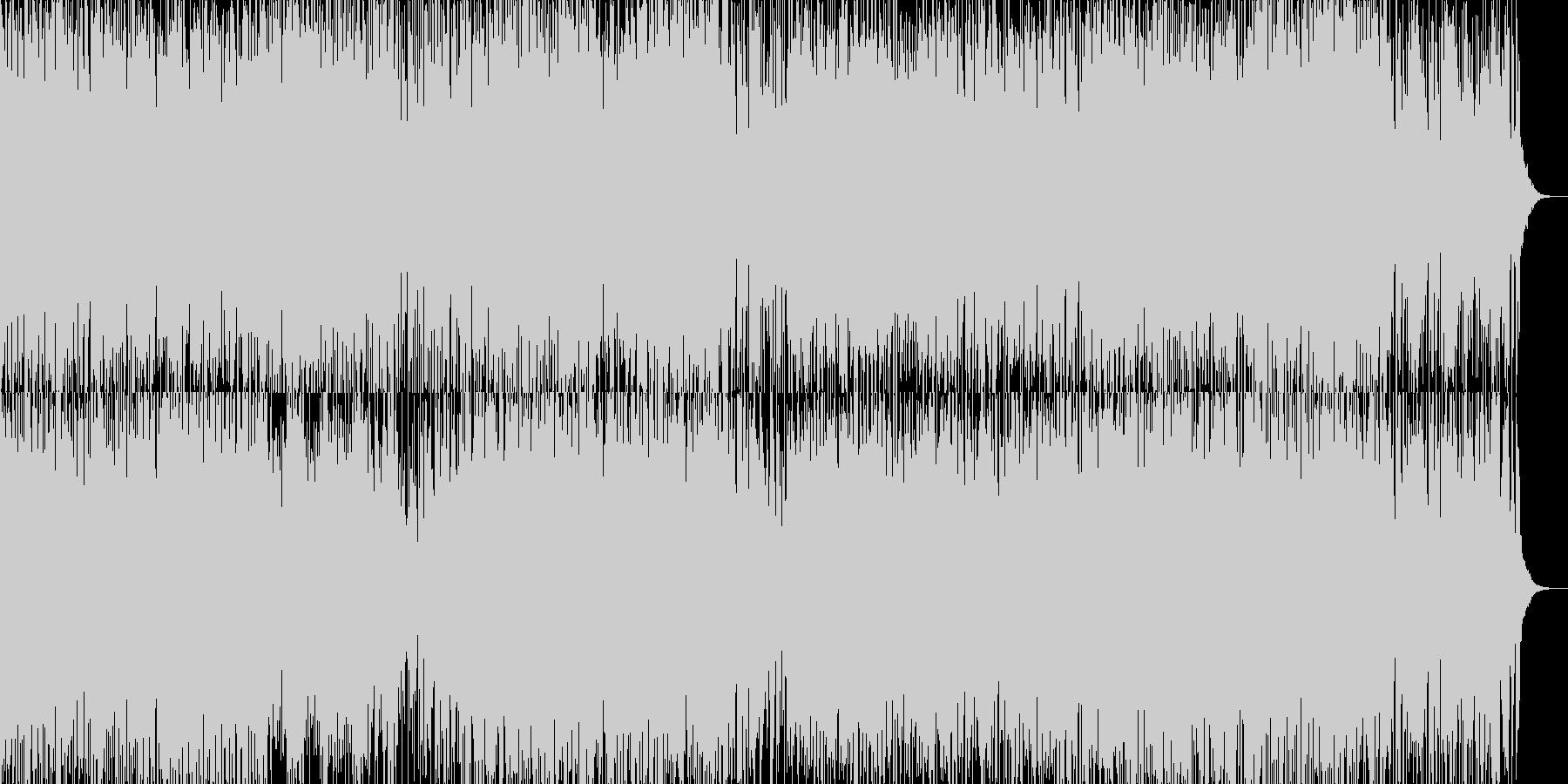 バンドネオンと激しいリズム隊の勇敢な曲の未再生の波形
