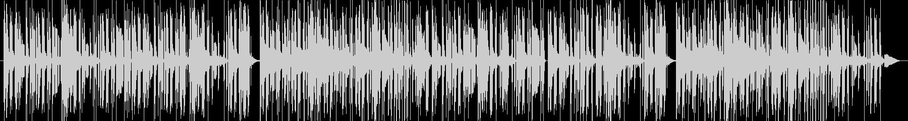 落ち着いたセクシーなビート 洋楽の未再生の波形