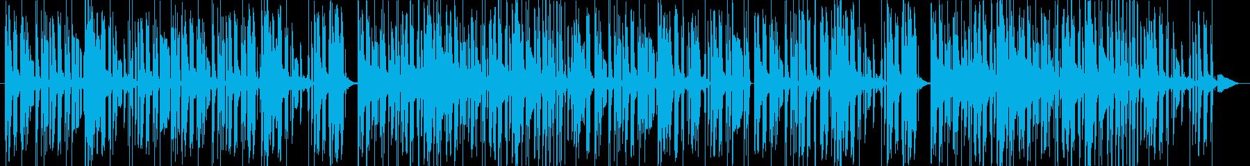 落ち着いたセクシーなビート 洋楽の再生済みの波形