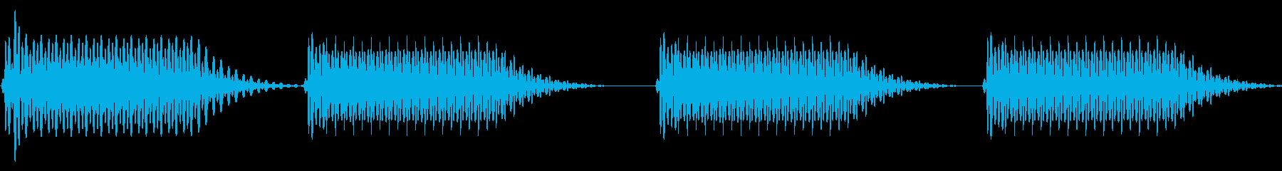 往年のRPG風 セリフ・吹き出し音 4の再生済みの波形