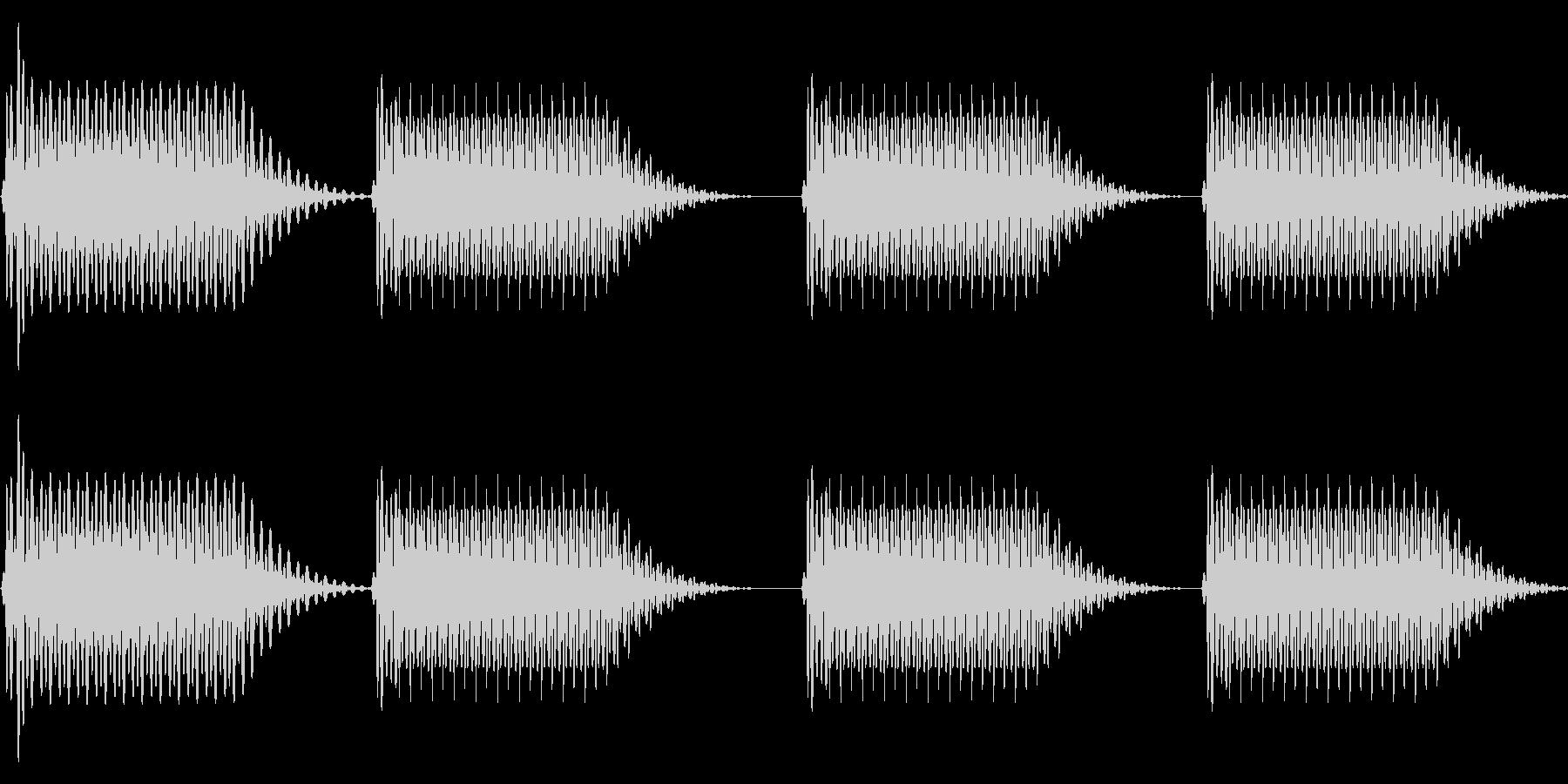 往年のRPG風 セリフ・吹き出し音 4の未再生の波形