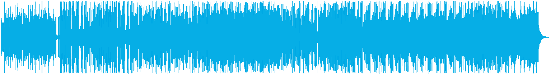 明るくキュートなエレクトロポップ♫の再生済みの波形