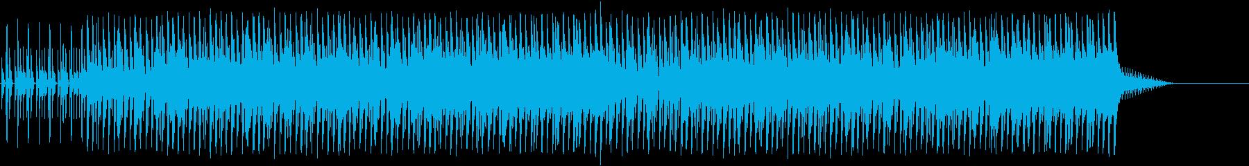 70sディスコ風マイナー・ダンス・テクノの再生済みの波形