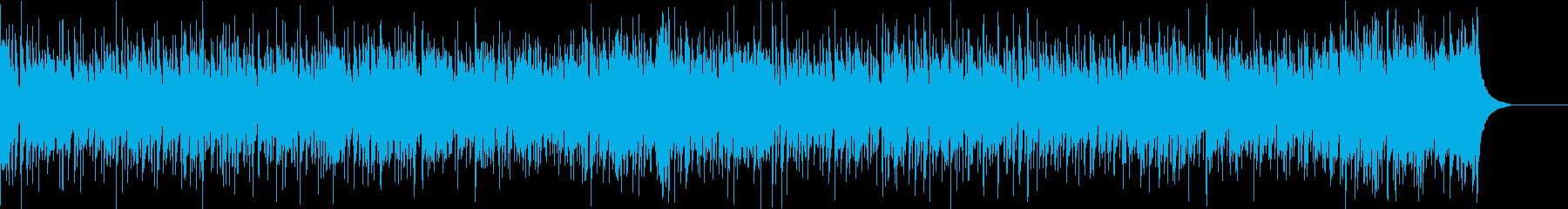 アップテンポで軽快なほのぼのポップロックの再生済みの波形