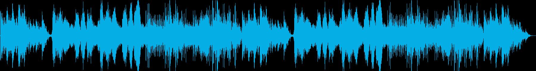 妖精の棲んでいそうなダークメルヘン曲の再生済みの波形