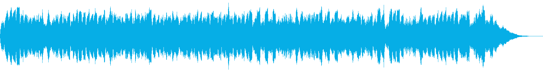 覚悟のテーマ30秒BGMの再生済みの波形