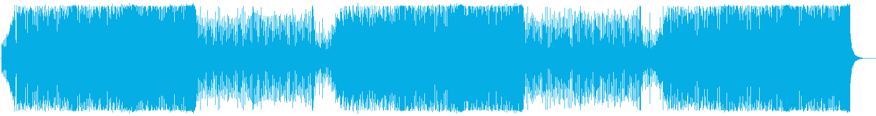 動画のオープニングにピッタリの再生済みの波形