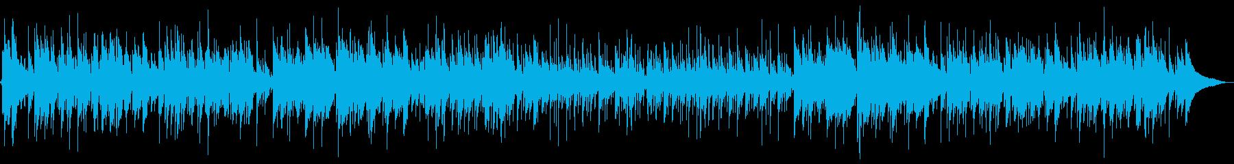どこかなつかしいハートフルギターバラードの再生済みの波形