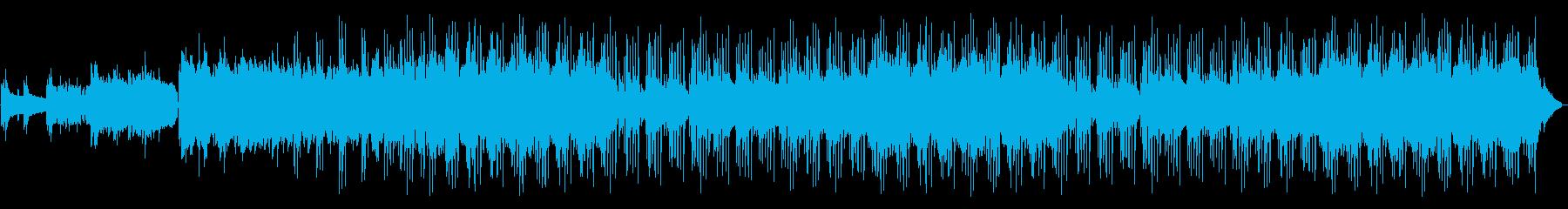 ペニーホイッスル、アコースティック...の再生済みの波形