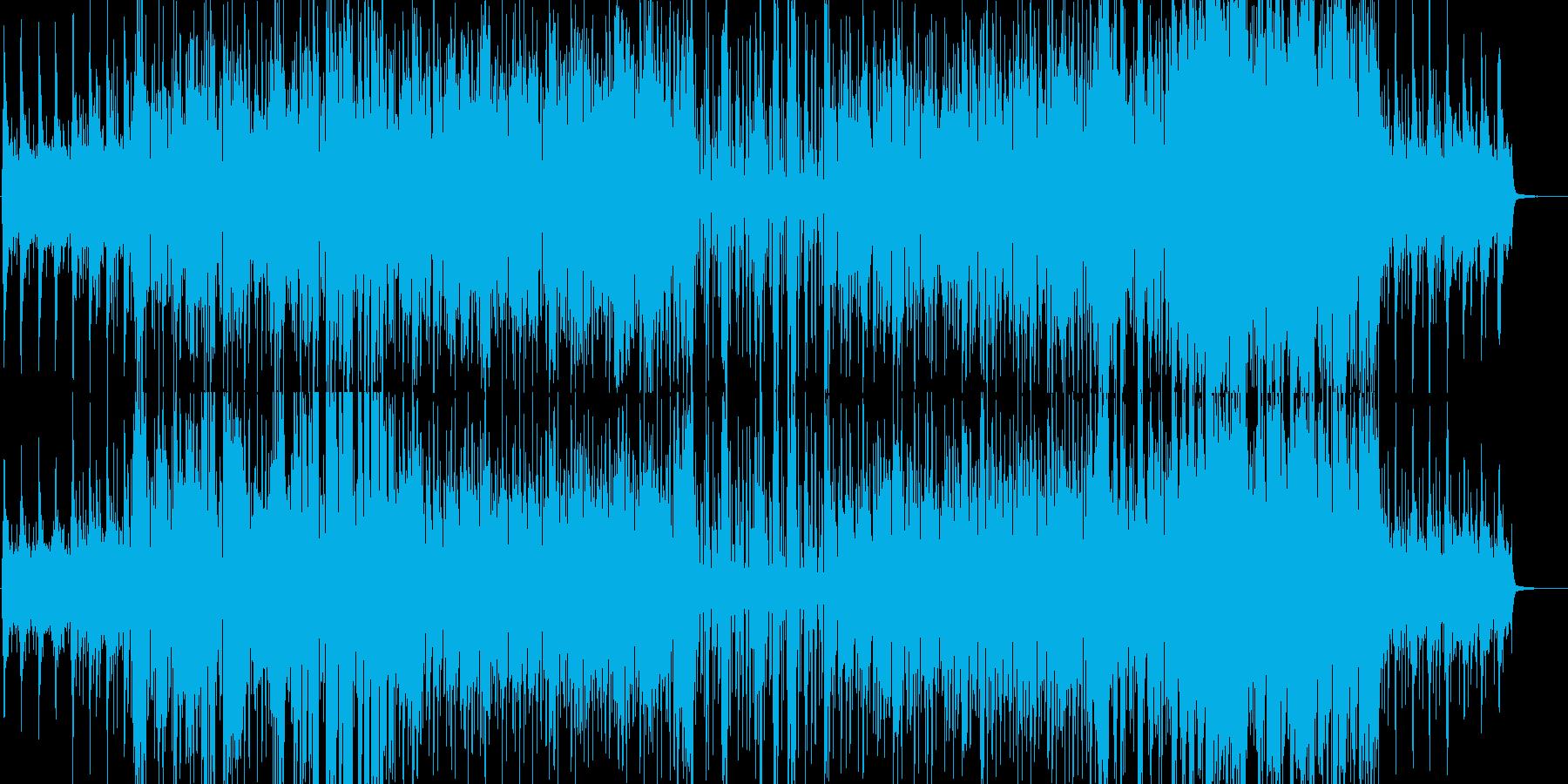 おしゃれなスムースジャズの再生済みの波形
