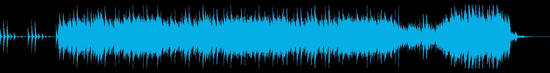 企業PV、CM向け軽快な鉄琴のポリリズムの再生済みの波形