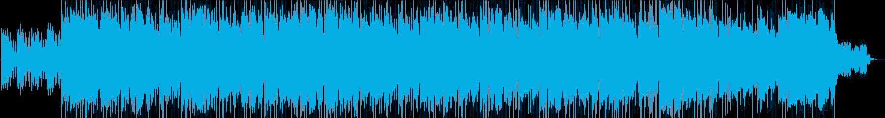 〜彷徨い〜暗闇の中を探検するようなBGMの再生済みの波形