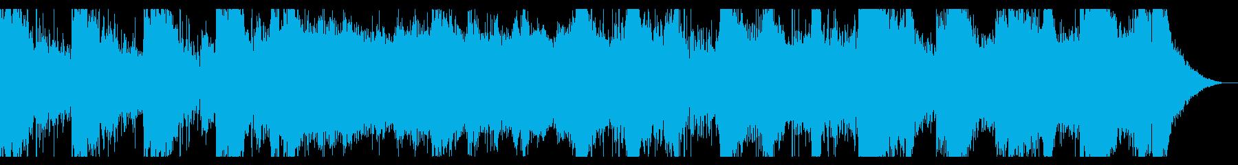 SF・ホラー向けシネマティックBGMの再生済みの波形