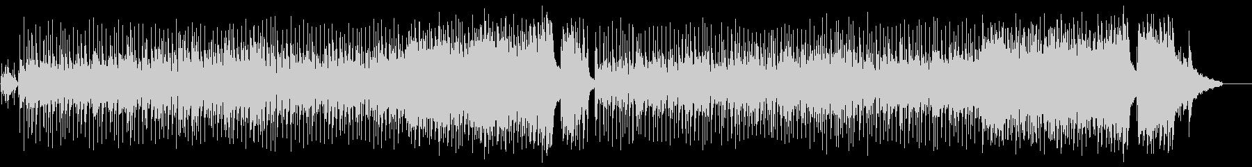 ハネムーンVTR向け愛のポップ/バラードの未再生の波形