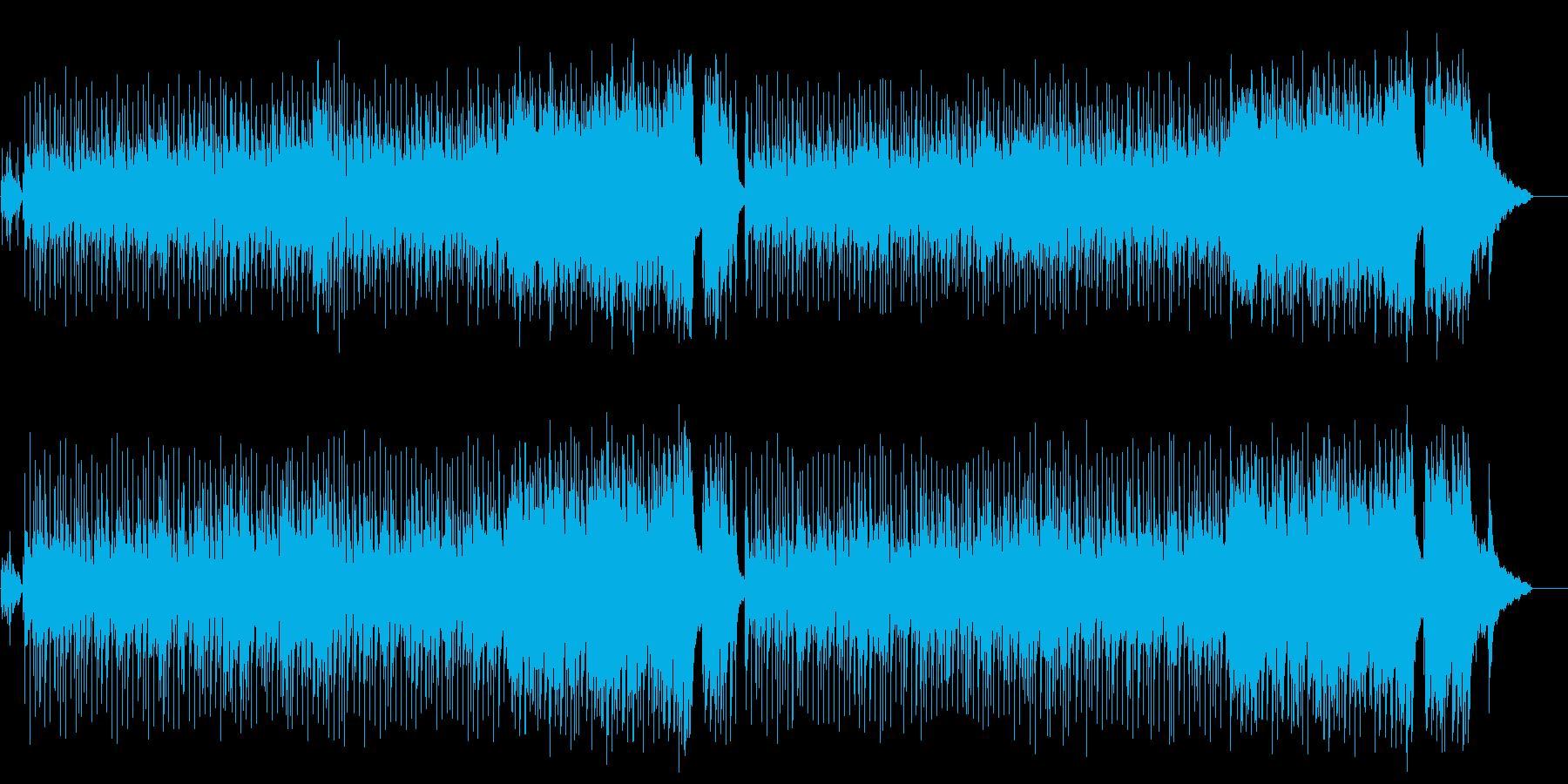 ハネムーンVTR向け愛のポップ/バラードの再生済みの波形