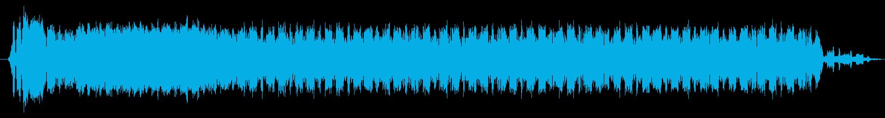素材 Sci Fiのうねりの進化03の再生済みの波形