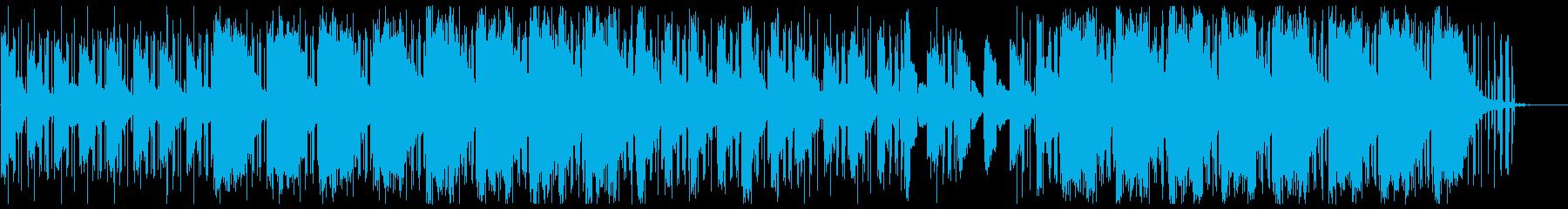 眠くなるピアノヒップホップの再生済みの波形