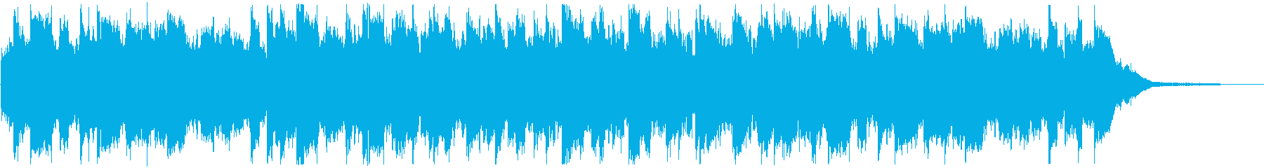 CM・おしゃれな洋楽ディスコの再生済みの波形