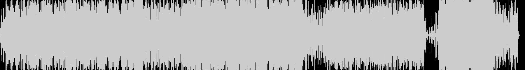 ミディアムテンポの壮大なギターインストの未再生の波形