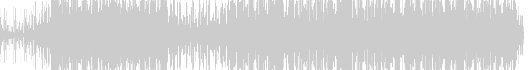 ヴォコーダーが目立つピアノハウスの未再生の波形
