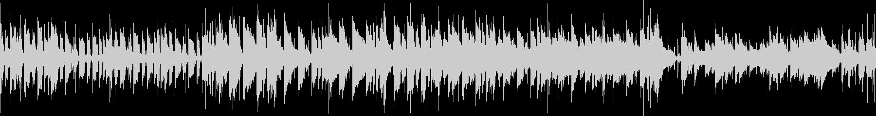怪しげな雰囲気のインド音楽_ループverの未再生の波形