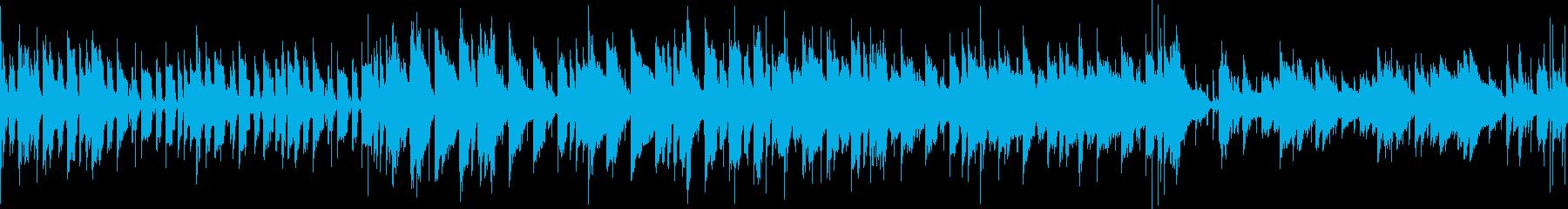 怪しげな雰囲気のインド音楽_ループverの再生済みの波形