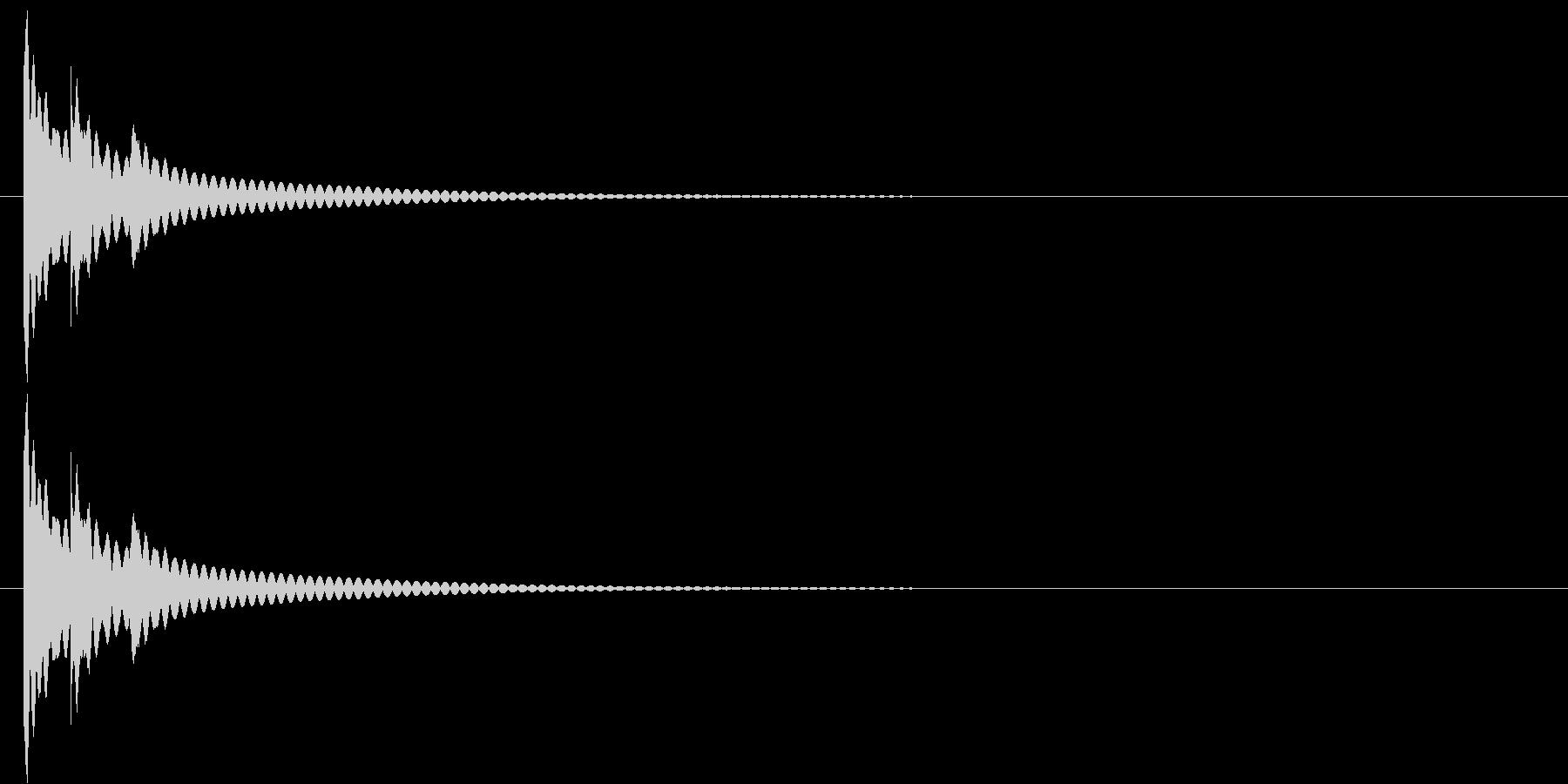 りん・持鈴「チリリーン」#2の未再生の波形
