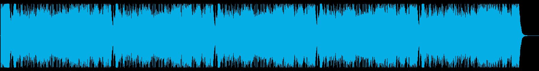 オーケストラ勝利栄誉賛美ファンファーレ付の再生済みの波形