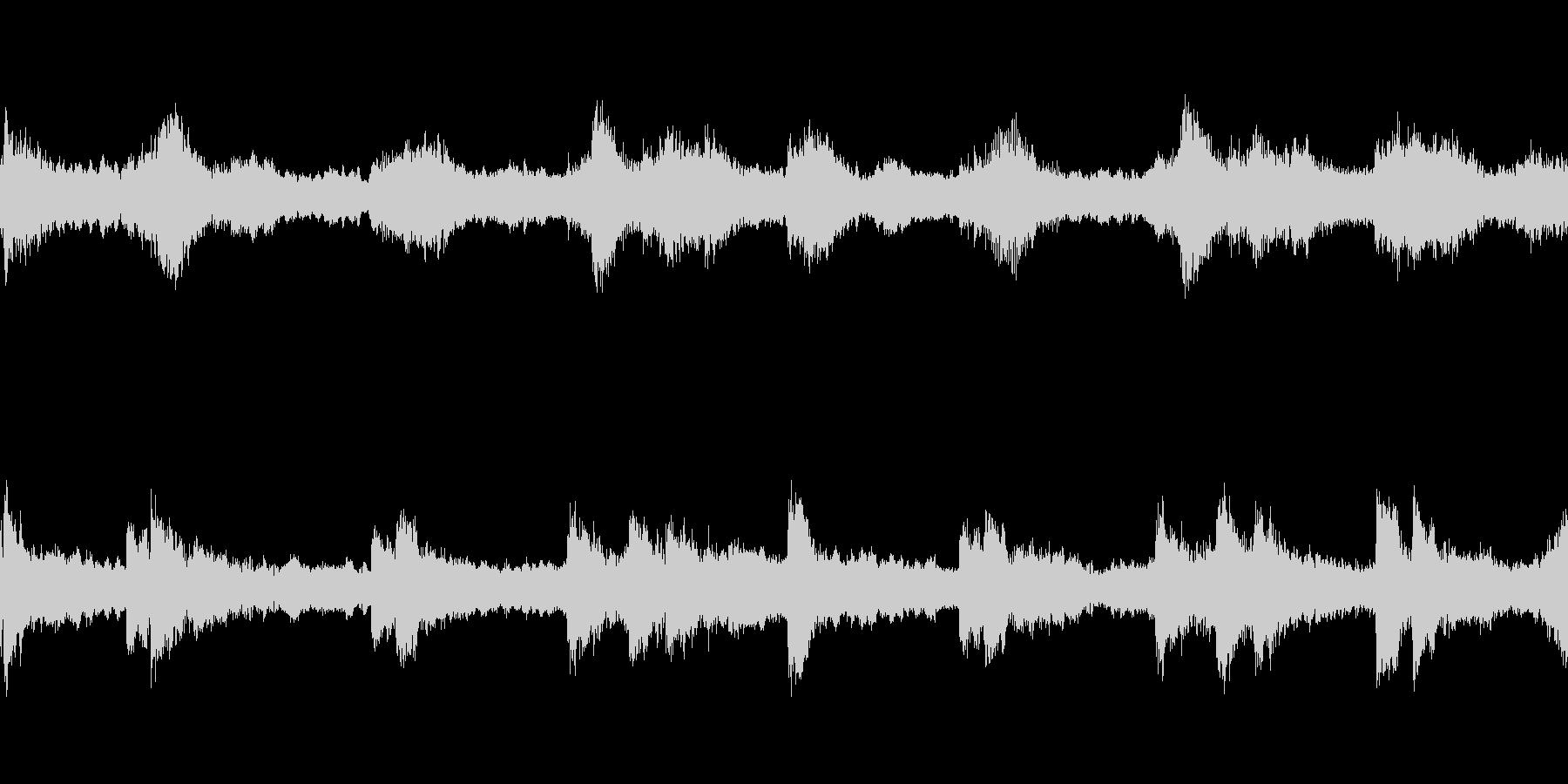壮大な雰囲気の楽曲(Loop-01)の未再生の波形