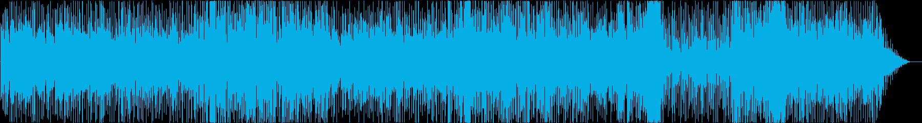 心が明るくなる軽快なリズムのポップスの再生済みの波形