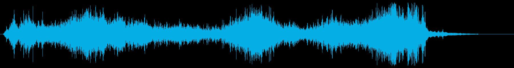 流水・しぶき・水系魔法#5の再生済みの波形