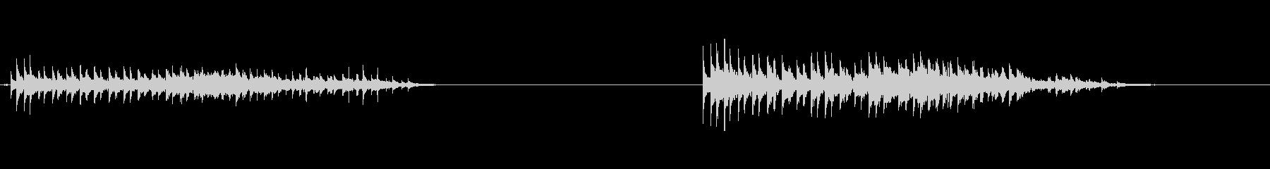 フレキシトーン:振動ラトル、下降の未再生の波形